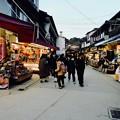 夕刻の表参道-広島県廿日市市:宮島