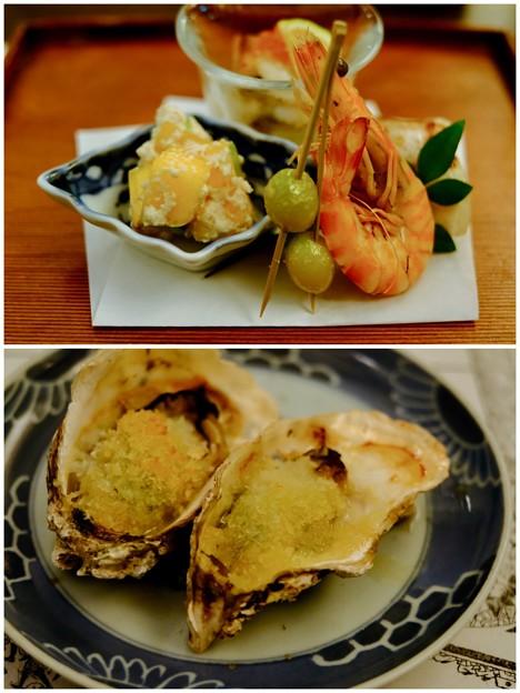楽しみな夕食-広島県廿日市市:宮島・「ゲストハウス 菊がわ」