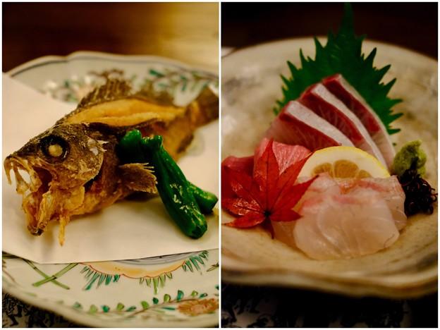 瀬戸内の魚を満喫-広島県廿日市市:宮島・「ゲストハウス 菊がわ」