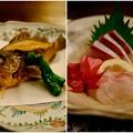Photos: 瀬戸内の魚を満喫-広島県廿日市市:宮島・「ゲストハウス 菊がわ」