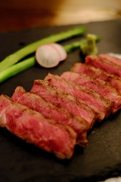 お肉も堪能-広島県廿日市市:宮島・「ゲストハウス 菊がわ」
