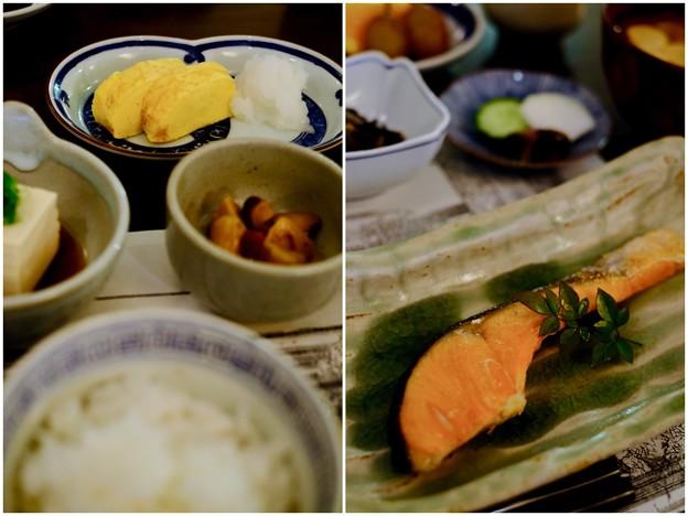 朝食も楽しみの一つ-広島県廿日市市:宮島・「ゲストハウス 菊がわ」