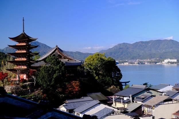 大野瀬戸を眺む-広島県廿日市市:宮島