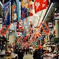 年の瀬の賑わい-兵庫県明石市:魚の棚商店街