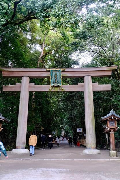 神への願い-奈良県桜井市:大神神社