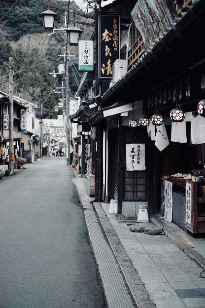 門前町を歩く-奈良県桜井市:長谷寺