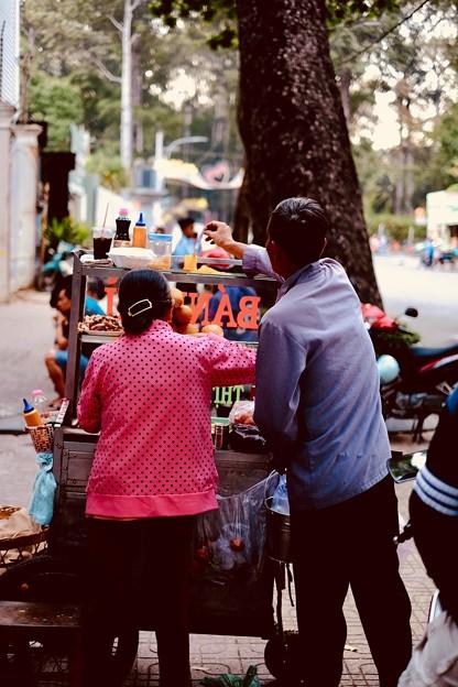 朝の屋台-Ho Chi Minh, Viet Nam