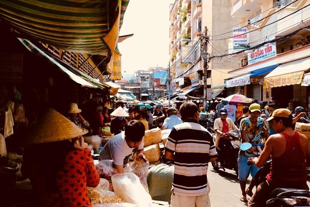 熱気と喧騒-Ho Chi Minh, Viet Nam