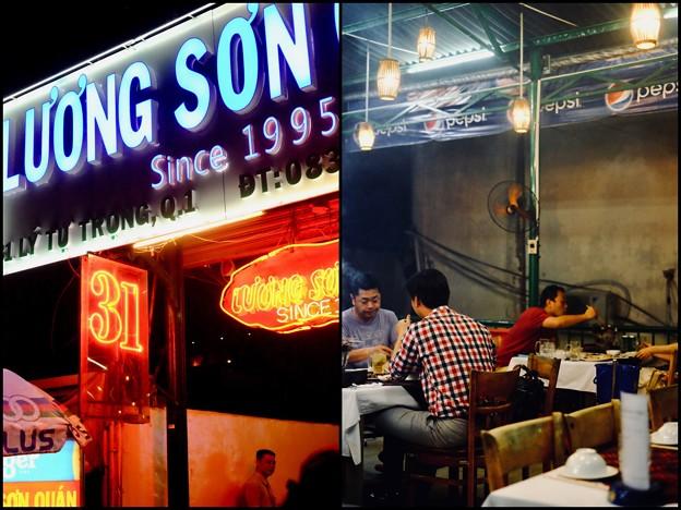 再会の日はベトナム式焼肉で-Ho Chi Minh, Viet Nam