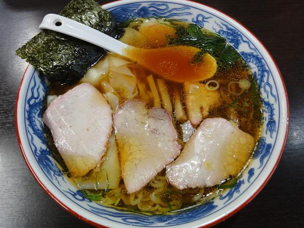 とら食堂『ワンタン麺』