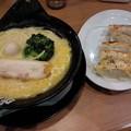 Photos: 町田商店『塩ラーメン・肉汁餃子セット』