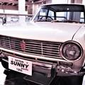 写真: 昔々家にあった車 ニッサン