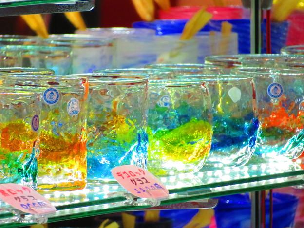 写真: 沖縄のグラス
