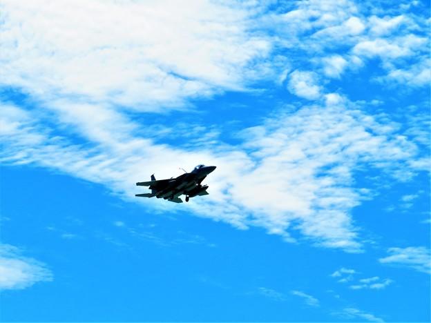 今日見た飛行機1