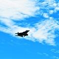 写真: 今日見た飛行機1