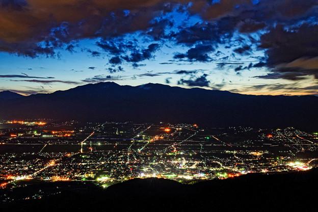 Photos: 上伊那の夜景