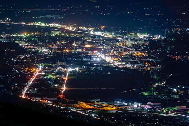 6万都市の夜景