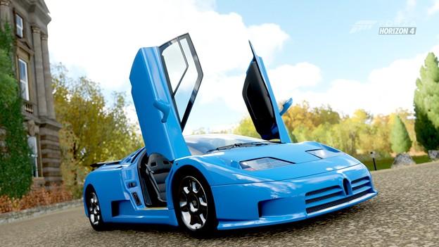 Photos: Bugatti EB110
