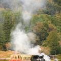 写真: SLといったら煙でしょ。w