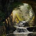 Photos: 亀岩の洞窟 (3)