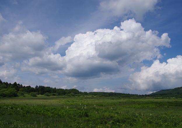 写真: 湧き上がる雲