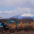写真: 浅間山