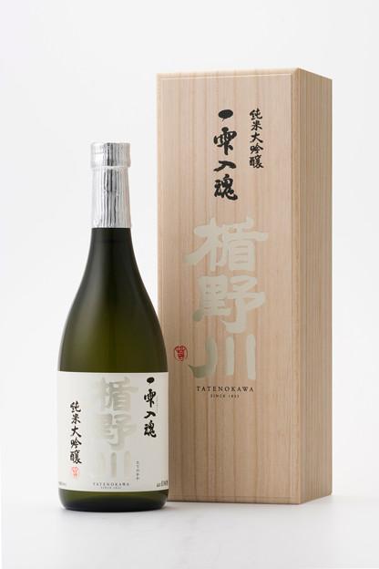 楯野川 一雫入魂(2021年2月発売 雪女神) 木箱付