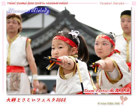 Team Fortis!風舞菖蒲_大師よさこいフェスタ2008
