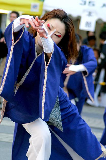 Photos: 魚沼華美_池袋チャリティーよさこい-11