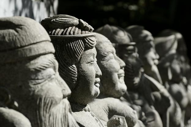 写真: 七福神