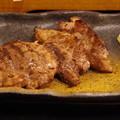 写真: マグロのほほ肉ステーキ