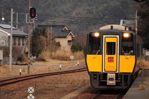 山陰本線 おき 江津駅
