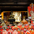 Photos: 壺阪寺本堂の雛祭り