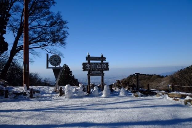 金剛山冬景色