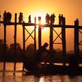 48ミャンマー -1日常の夕日