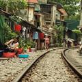Photos: 84ベトナム-1生活線路