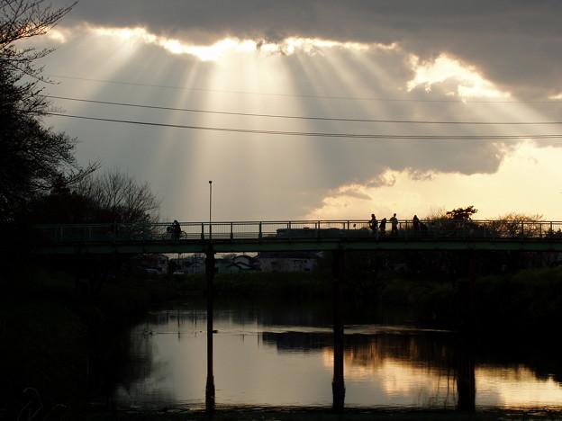 写真: 夕景「ライトアップ」