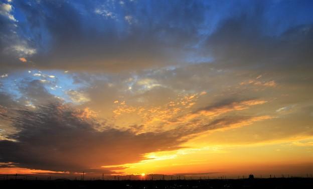 Photos: 沈む夕日