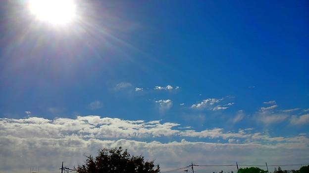Photos: 秋雲の壁