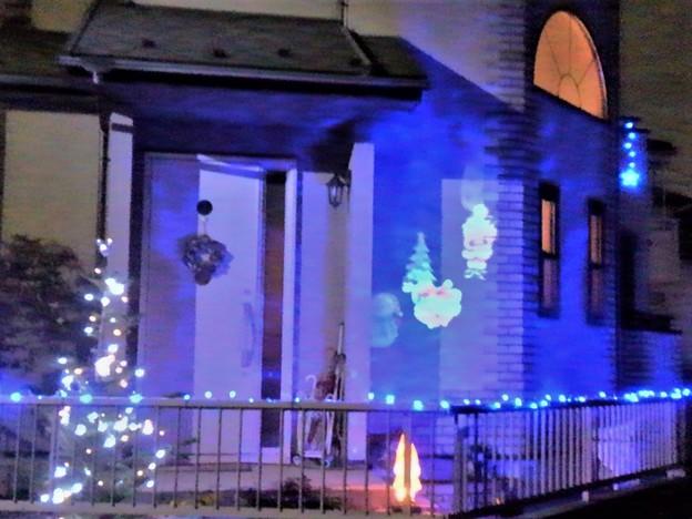 写真: ご近所さんのクリスマス