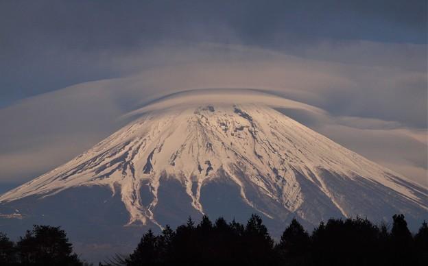 Photos: 富士に笠が