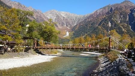 秋の河童橋