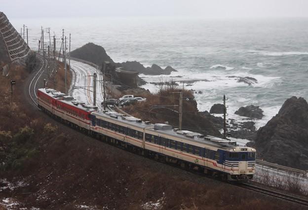 825D 羽越本線 普通列車