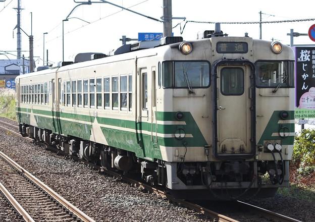 1127D 奥羽本線・男鹿線 普通列車(EV-E801系代走)