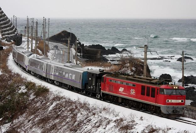 甲8561レ キハ261 ST-1118+ST-1218 甲種輸送