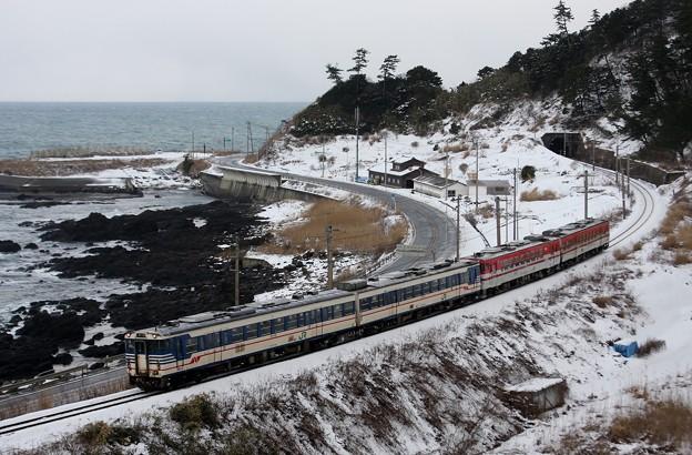 822D 羽越本線 普通列車