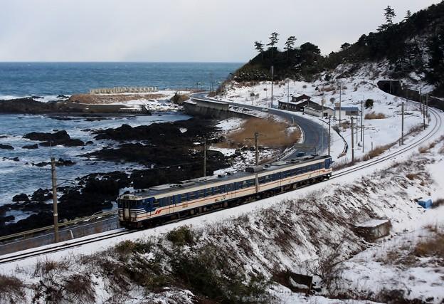 220D 羽越本線 普通列車