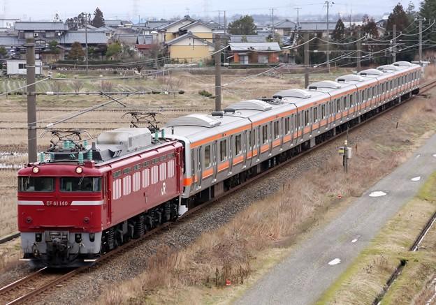 配9822レ E231系(武蔵野線用 元B42) AT出場配給