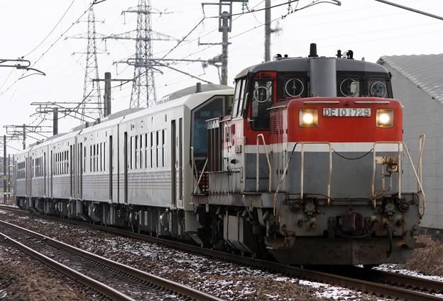 甲9563レ GV-E400系5B 甲種輸送