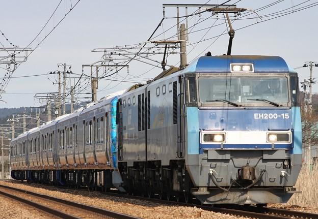 甲9780レ SR1系S101+S102+S103 甲種輸送